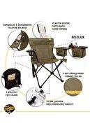 Funky Chairs Cool Ice Haki Lüks Kamp Sandalyesi