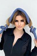 Takıştır Buz Mavi Renk Isısız Saç Şekillendirme Saç Sosisi Toka Seti