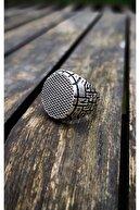 The Collection Gümüş Kaplama Erkek Yamaç Yüzüğü