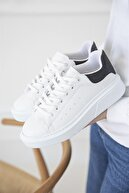 Straswans Kadın Beyaz Sim Detay Spor Ayakkabı