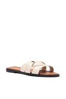 Trendyol Shoes Bej Kadın Terlik TAKSS21TE0012