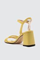 Trendyol Shoes Sarı Kadın Klasik Topuklu Ayakkabı TAKSS21TO0098