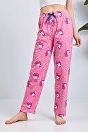 Moda Clubu Pamuklu Pijama Altı Unicorn Desen