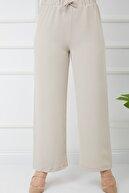 Bayanca Moda Kadın Tesettür Airobin Kumaş Bol Paça Pantolon