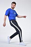 Rodi Jeans Rodi Ty21ye090311 Lacivert-beyaz Erkek Çizgili Düz Paça Yanı Garnili Alt Eşofman