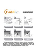 Flash Siyah Cam Filmi Koyu Ton 50cm X 6m