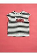 Koton Kız Çocuk Siyah Minnie Mouse Baskılı  T-Shirt