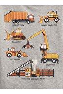 GAP Erkek Bebek Pembe Organik Pamuk Grafik Desenli T-shirt