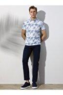 Kip Erkek Lacivert Düz Dokuma Pantolon