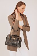 US Polo Assn Sıyah Kadın Omuz Çantası Us8100