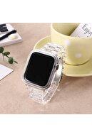 Apple Watch 3 Kordon Klipsli Ayarlanabilir Dayanıklı Plastik 42mm Krd-33 Sadece Kordon