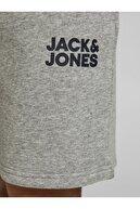 Jack & Jones Erkek Gri Jjnewsoft Şort 12186787