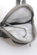 Smart Bags Smbk1030-0078 Gri Kadın Küçük Sırt Çantası