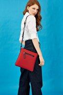 US Polo Assn Kırmızı Kadın Postacı Çantası Us8213