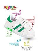KAPTAN JUNIOR Erkek Bebek Yeşil İlkadım Ortopedik Spor Ayakkabı