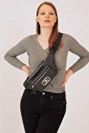 US Polo Assn Sıyah-sıyah Kadın Postacı Çantası Us20209