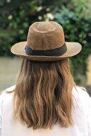 novon Hasır Kurdelalı Panama Şapka