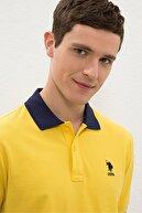 US Polo Assn Sarı Erkek T-Shirt