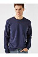 Koton Erkek Lacivert Sweatshirt