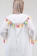 Laranor Kadın Kapüşonlu Vual Kimono