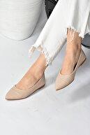 Fox Shoes Kadın Ten Babet