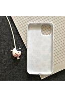 SUPPO Iphone 11 Uyumlu Inek Desenli Kılıf Ve Kablo Koruyucu Set