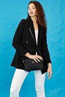 US Polo Assn Sıyah-sıyah Kadın Postacı Çantası Us3033