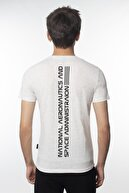 Fabregas Karmelanj Nasa Reflektör Baskılı Bisiklet Yaka T-shirt
