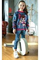 Riccotarz Kız Çocuk Kelebekli Taytlı Takım