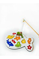 Ion Ahşap Mıknatıslı Balık Tutma Oyunu