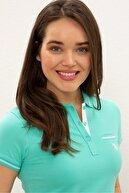 US Polo Assn Yesıl Kadın T-Shirt
