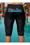 Lord Of Seas Erkek Siyah Batmayan Şort