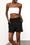 Xena Kadın Siyah Oversize Şort 1YZK8-11788-02