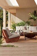 mobilyanibul Alanya Bahçe Balkon Havuz Koltuğu Tekli