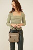 US Polo Assn Vızon-kahve Kadın Postacı Çantası Us8026