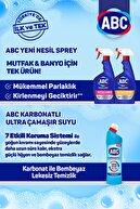 ABC Yeni Nesil Sprey Limon Kokulu 1 Adet + Karbonatlı Ultra Çamaşır Suyu 1 Adet