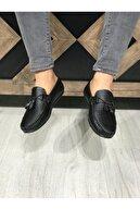 Zegeshoes Erkek Siyah Yazlık Günlük Ayakkabı