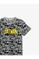 Koton Erkek Çocuk Gri Batman T-Shirt