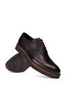 Deery Hakiki Deri Siyah Günlük Erkek Ayakkabi 01293MSYHE30