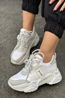 İnan Ayakkabı Kadın Gri Sneakers