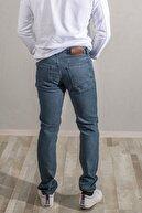 Network Erkek Yeşil Denim Pantolon