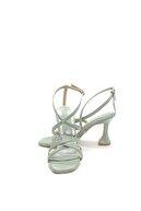 Pandora Kadın Mint Yeşili Topuklu Abiye Ayakkabı