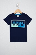 US Polo Assn Erkek Çocuk Lacıvert T-shirt