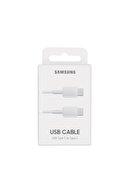 Samsung 3.0a Usb Typec Kablo C To C Ep-da705bbegww ( Türkiye Garantili) Beyaz