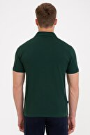 Pierre Cardin Koyu Yeşil Slim Fit Basic Polo Yaka T-Shirt
