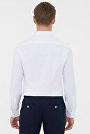 Pierre Cardin Beyaz Slim Fit Oxford Gömlek