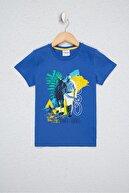 US Polo Assn Mavı Erkek Çocuk T-Shirt