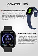 GWATCH HW16 Akıllı Saat  Nabız ve Tansiyon Ölçer Ios Ve Androıd Uyumlu IP67 Suya Ve Toza Dayanıklı