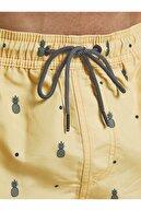 Jack & Jones Erkek Sarı Şort 12188379
