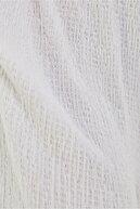 Bershka Kadın Beyaz Derin Dekolteli Uzun Tulum